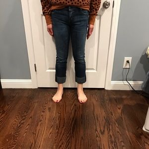 Citizens of Humanity crop skinny jeans sz 29